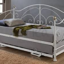 Grey Daybed Google Search Interesting White Metal Daybed With