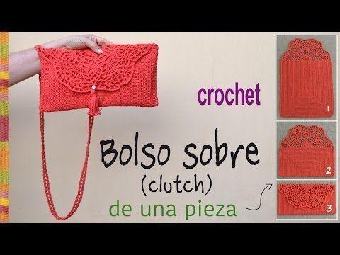 Pretty Lace Crochet Handbag With Pattern | CrochetBeja #fitness #pretty #pattern #lace #crochet #han...
