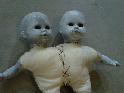Valley of the Dolls - creepy baby doll makeovers creepy dolls - creepy halloween decorations homemade