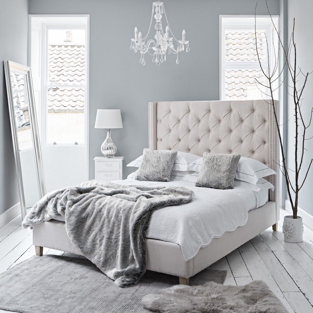 Boutique Hotel Neutral Bedroom Ideas