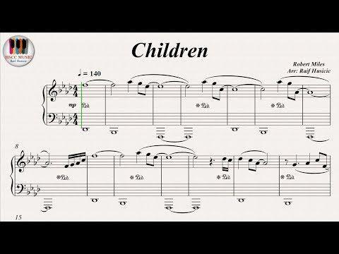 Children Robert Miles Piano Youtube Music In 2019