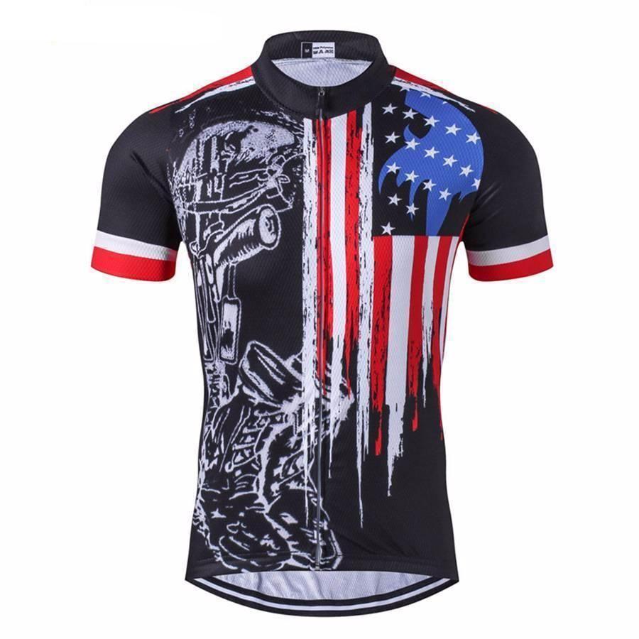 Men Cycling Jersey Pro Team Bike Short Sleeve Bicycle Wear Clothing T-Shirt Tops