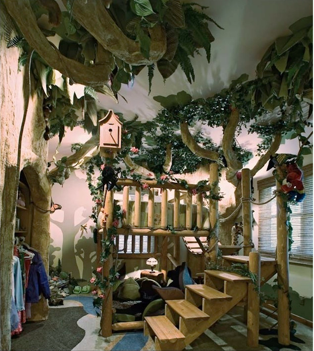 Tree house room