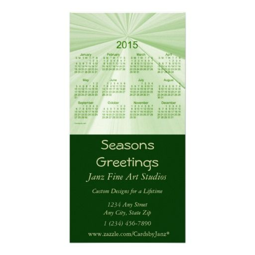 Seasons Greetings 2015 Business Calendar Card Seasons, Photos and