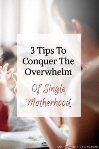 Stresses of single motherhood and dating