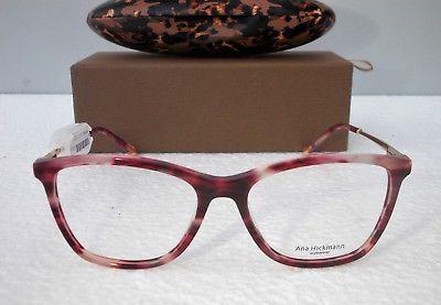 539fb4da17d7e5 Monture lunettes de vue Femme Ana Hickmann Model AH 6269 Etat neuf REF 55