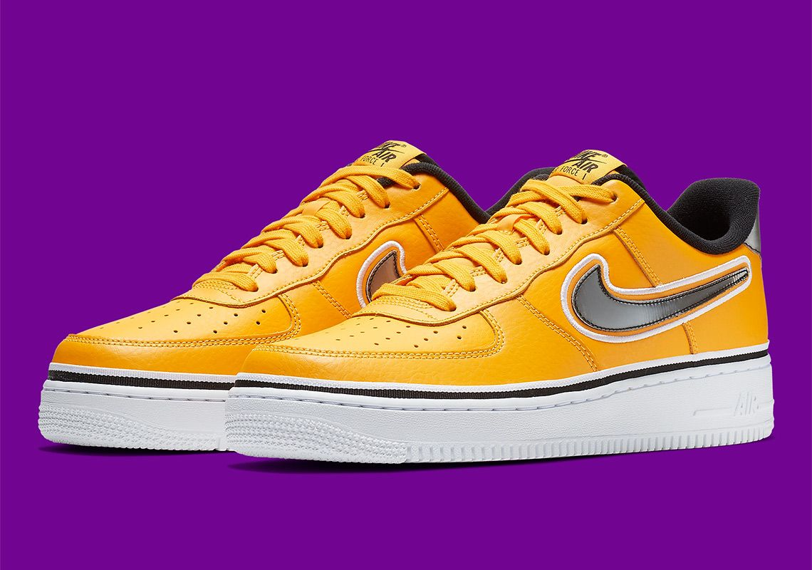 Nike Air Force 1 Low Lakers BV1168-700 Release Info  thatdope  sneakers   luxury  dope  fashion  trending 5b9398c16