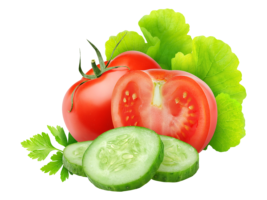 Tomato And Cucumber Slice Png Transparent Image Freepngimage Com Tomato Vegetables Cucumber