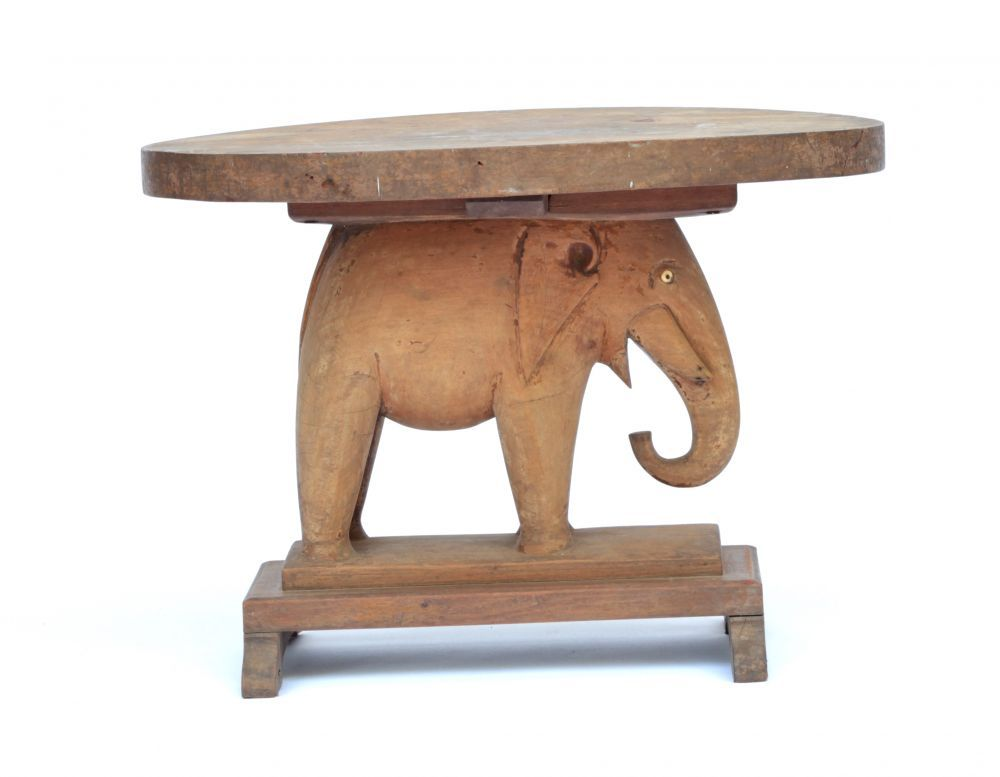 Lovely Wooden African Elephant Table #1661 | Elephant Tables | Stools / Chairs U2014  Deco Art