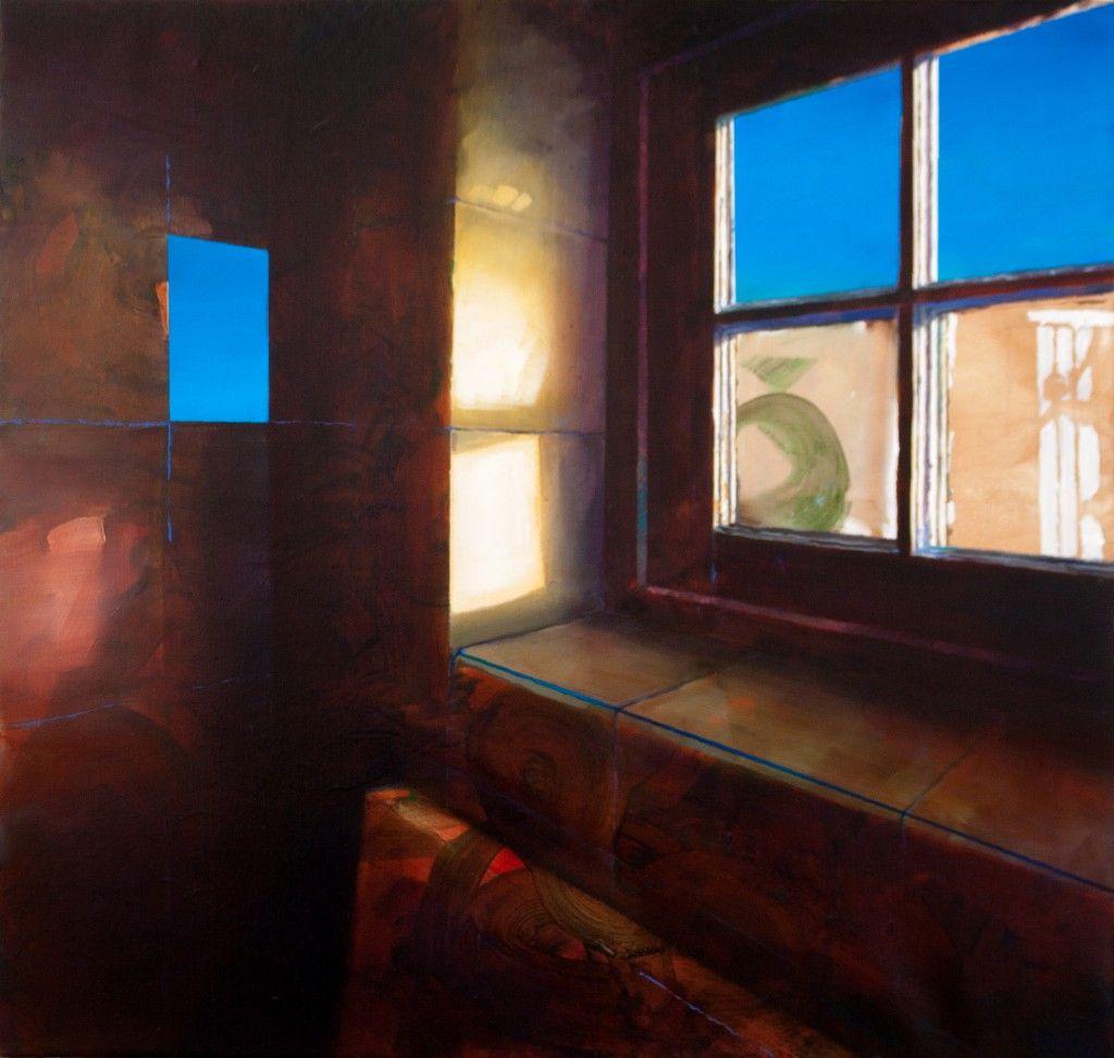 Maarten van Aken: Dageraad / Room With a View V - Oil on Canvas, 2015