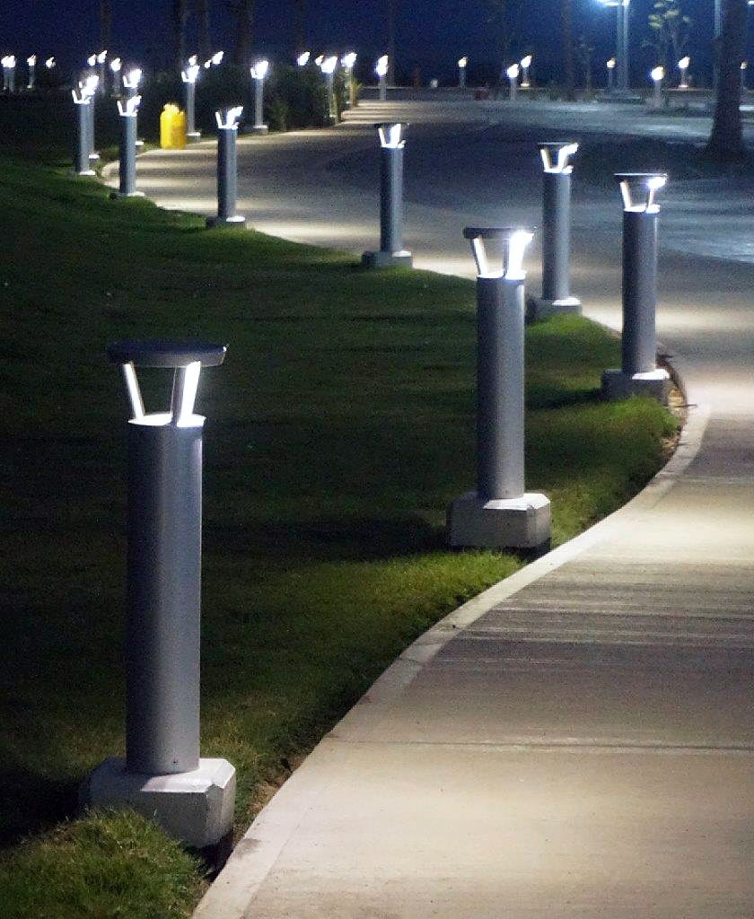 Garden Bollard Lighting Solar Lights Garden Solar Powered Garden Lights Decorative Solar Garden Lights