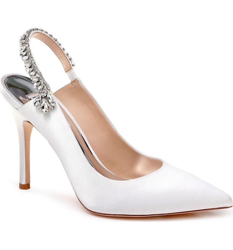 Bridal Shoes At Nordstrom: Free Shipping And Returns On Badgley Mischka Paxton Pointy