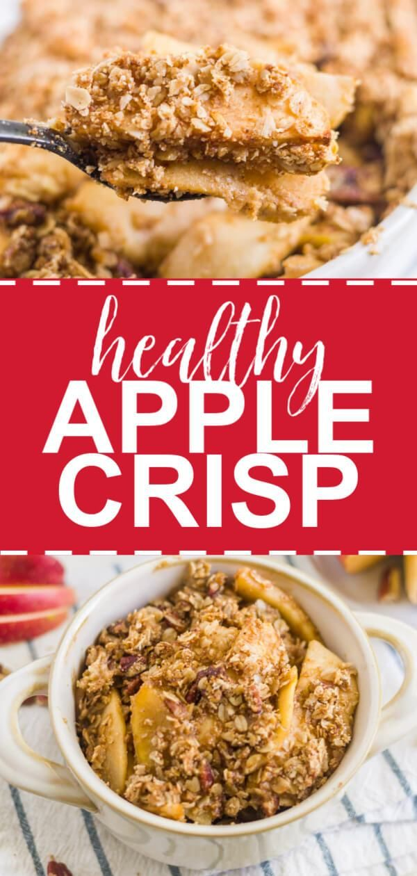 Healthy apple crisp images