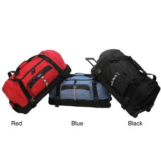 f47a9825fb Olympia 30-inch Drop-bottom Rolling Upright Duffel Bag Online Bags