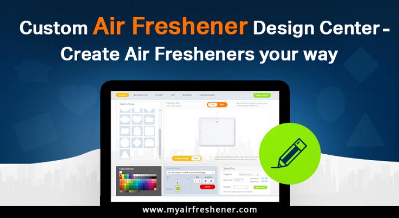 Custom Car Air Fresheners and Design Center Create Air