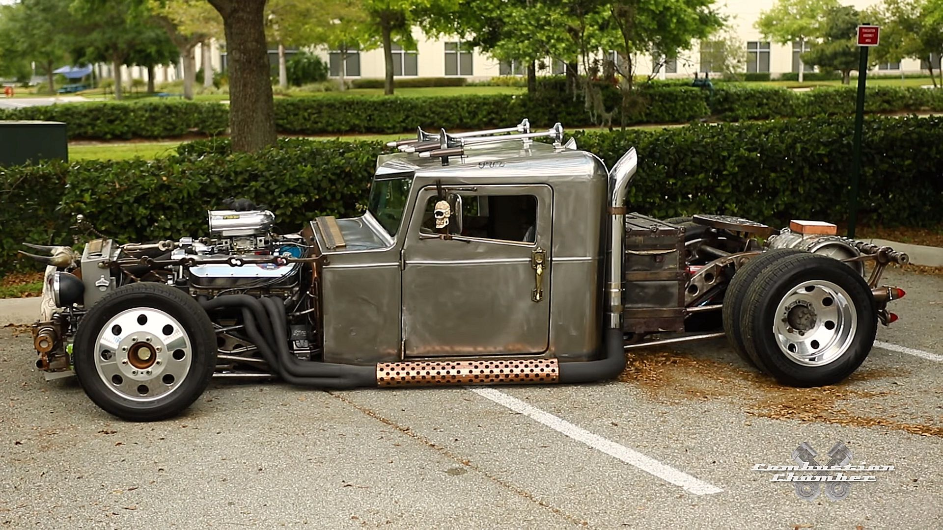 Ratical A Completely Hand Built Dually Rat Rod Truck By Sean Puz Rat Rods Truck Rat Rod Truck Rat Rod