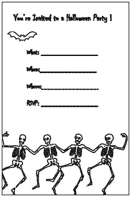 Halloween party invites Halloween Pinterest Halloween - halloween invitation template
