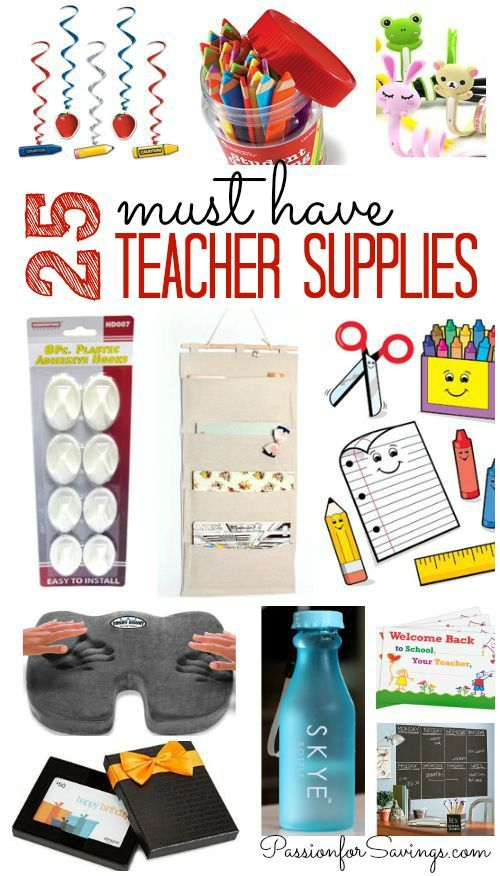 25 Must Have Teacher Items For Back To School School Supplies For Teachers Teacher Supplies Teacher Survival