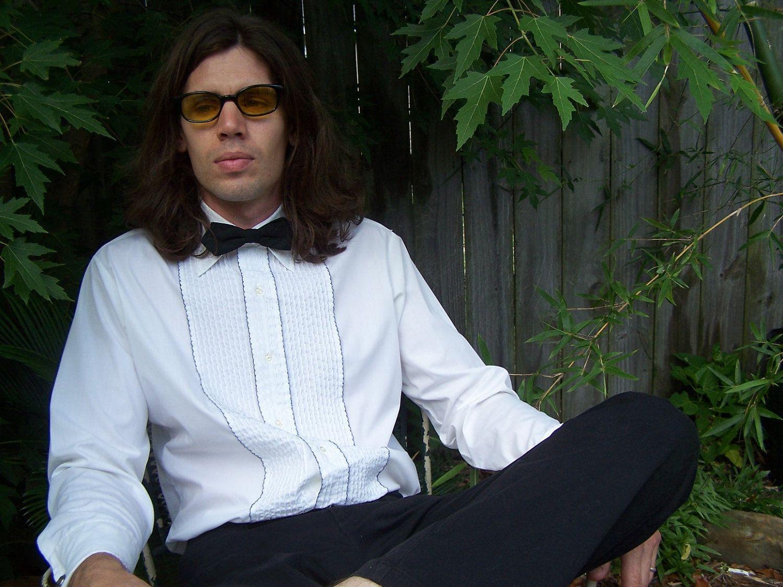 Vintage Ruffled Tuxedo Shirt / Vintage Prom / 1960s Ruffled Tuxedo ...