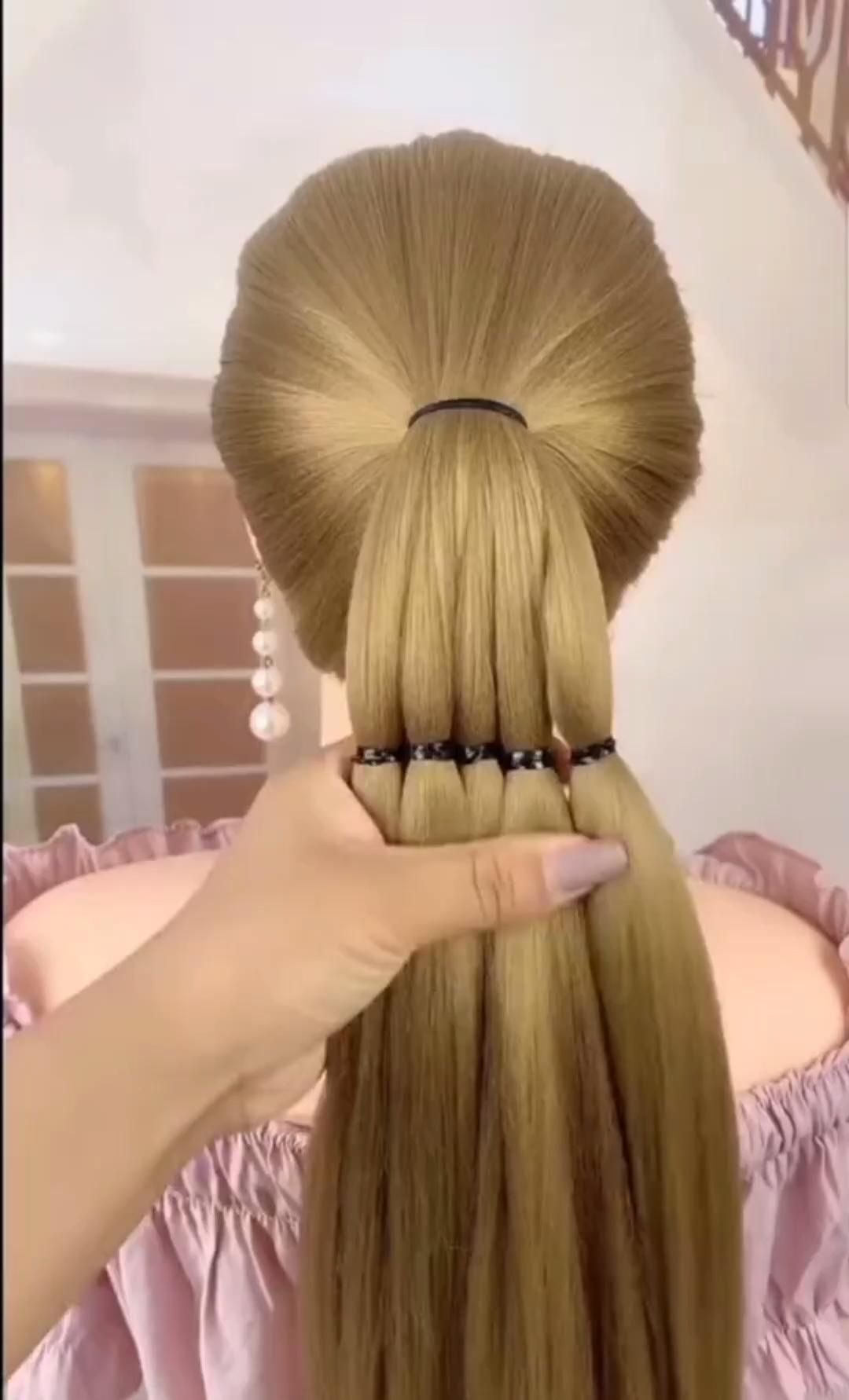 Hairstyle Ideal Jul 30 2020 Video In 2020 Front Hair Styles Braids For Long Hair Beautiful Braided Hair