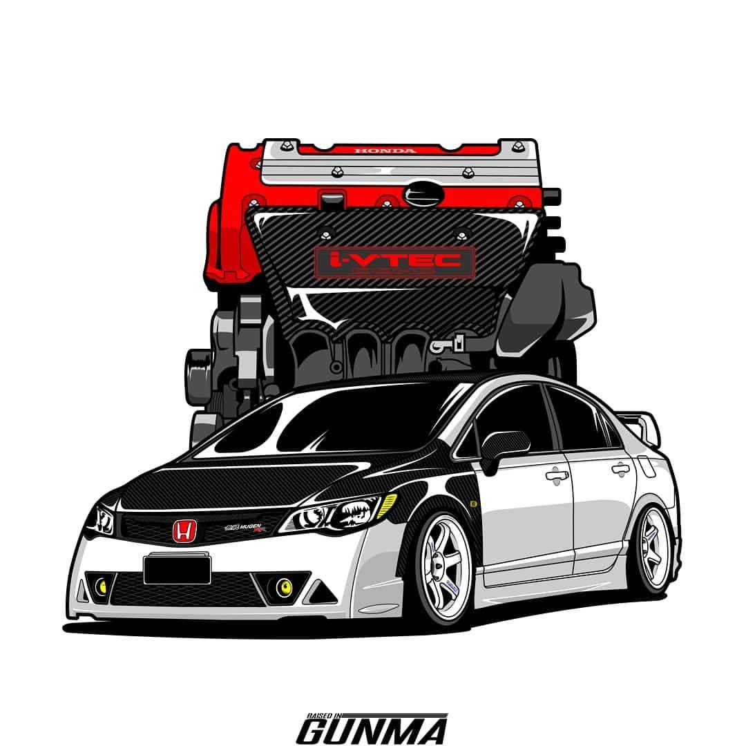 12pcs Racing Sponsors Logo Graphic Sticker Decal Honda Civic Bmw Subaru 8 Car Sticker Design Bmw Mitsubishi Evo [ 1000 x 799 Pixel ]