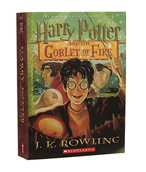 Harry Potter And The Goblet Of Fire By J K Rowling Scholastic Paperbacks Harry Potter Goblet Goblet Of Fire Goblet Of Fire Book
