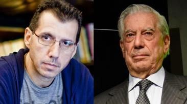 "Alberto Fuguet elogió ""Cinco esquinas"" de Mario Vargas Llosa. March 28, 2016."