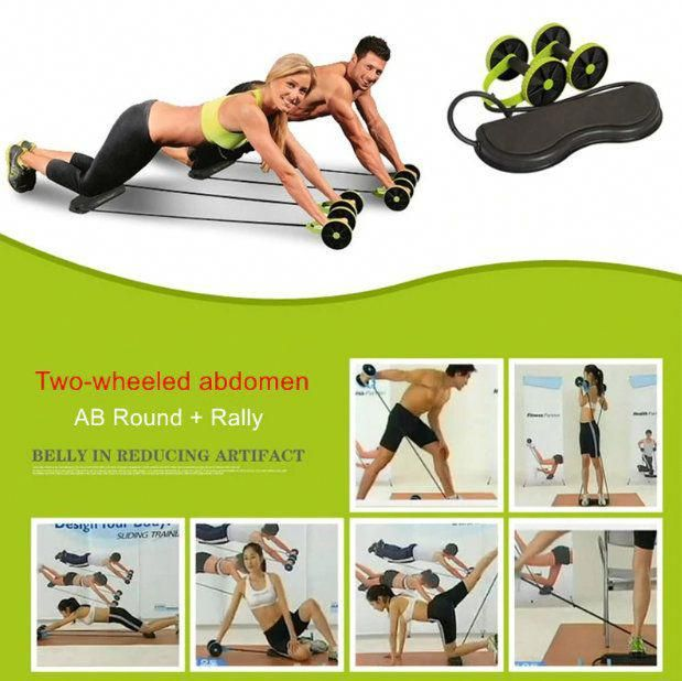 Resistance Pull Rope Ab Roller for exercise. to help you get in shape. #fitness #abworkout #abmachin...
