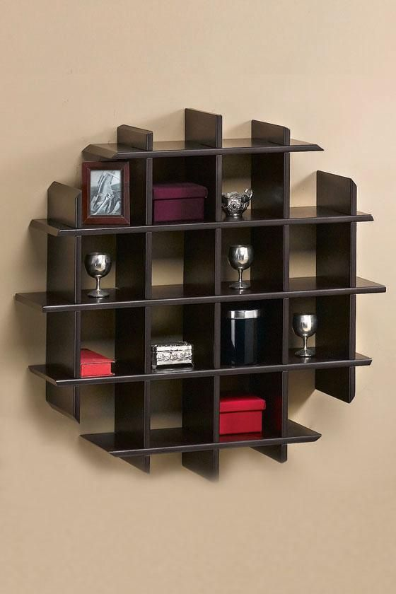 Home Design Wooden Unique Wall Shelves Design Modern Unique Wall