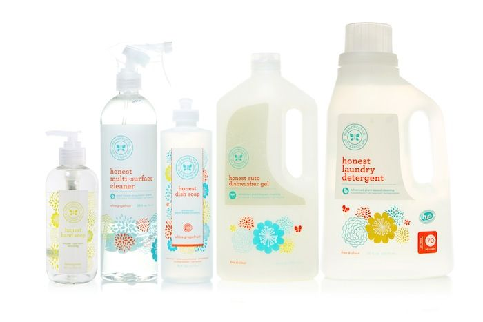We are HUGE fans of @The Honest Company home products - they're natural, non-toxic and safe for baby! #PNapproved