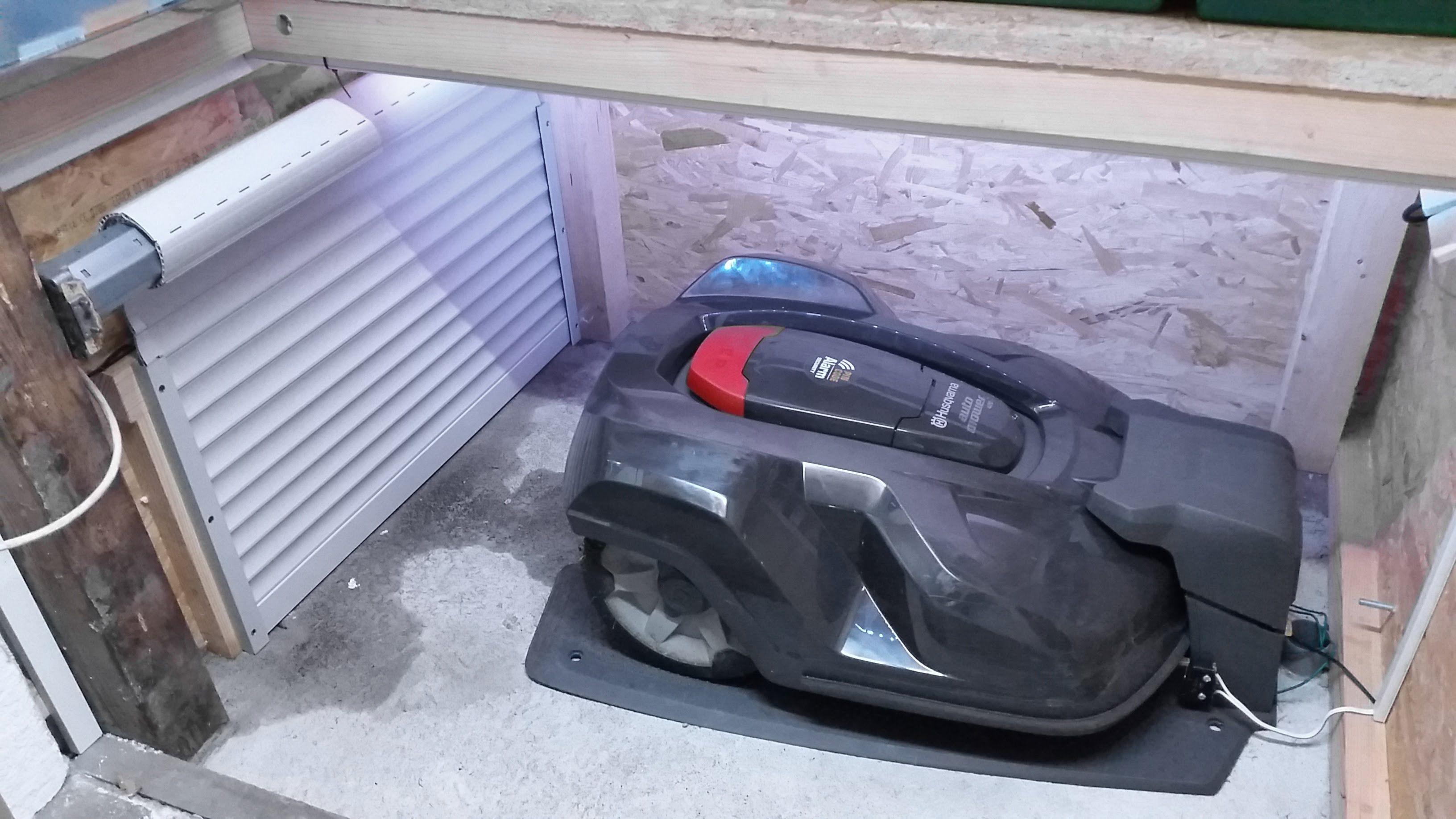 Husqvarna Automower - Garage   Mhroboter Garage DIY ...