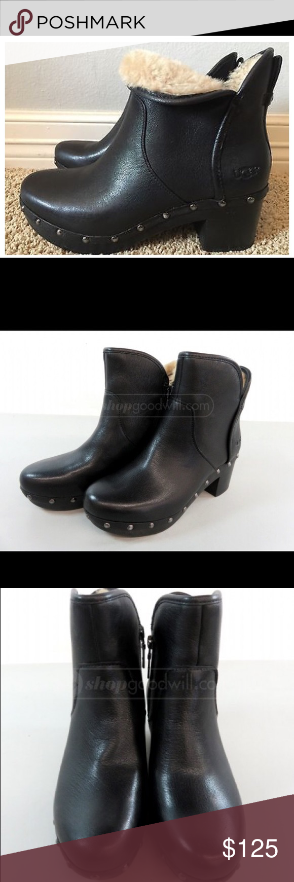 fb2cee90a53 Size 5 Ugg Cam II Ankle Boot -Black - Soft suede upper with nail ...