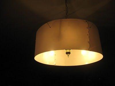Giant Drum Shade Pendant For 13 Bucks, Large Drum Lamp Shade Ikea