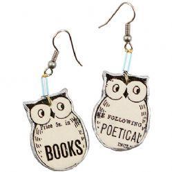 Owl Earrings @Stephanie Easterly