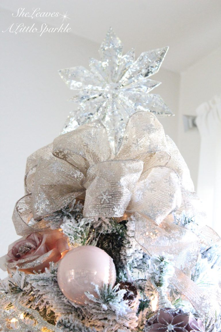 Holiday Living Room Tour | Pinterest | Pink christmas, Wrapping ...
