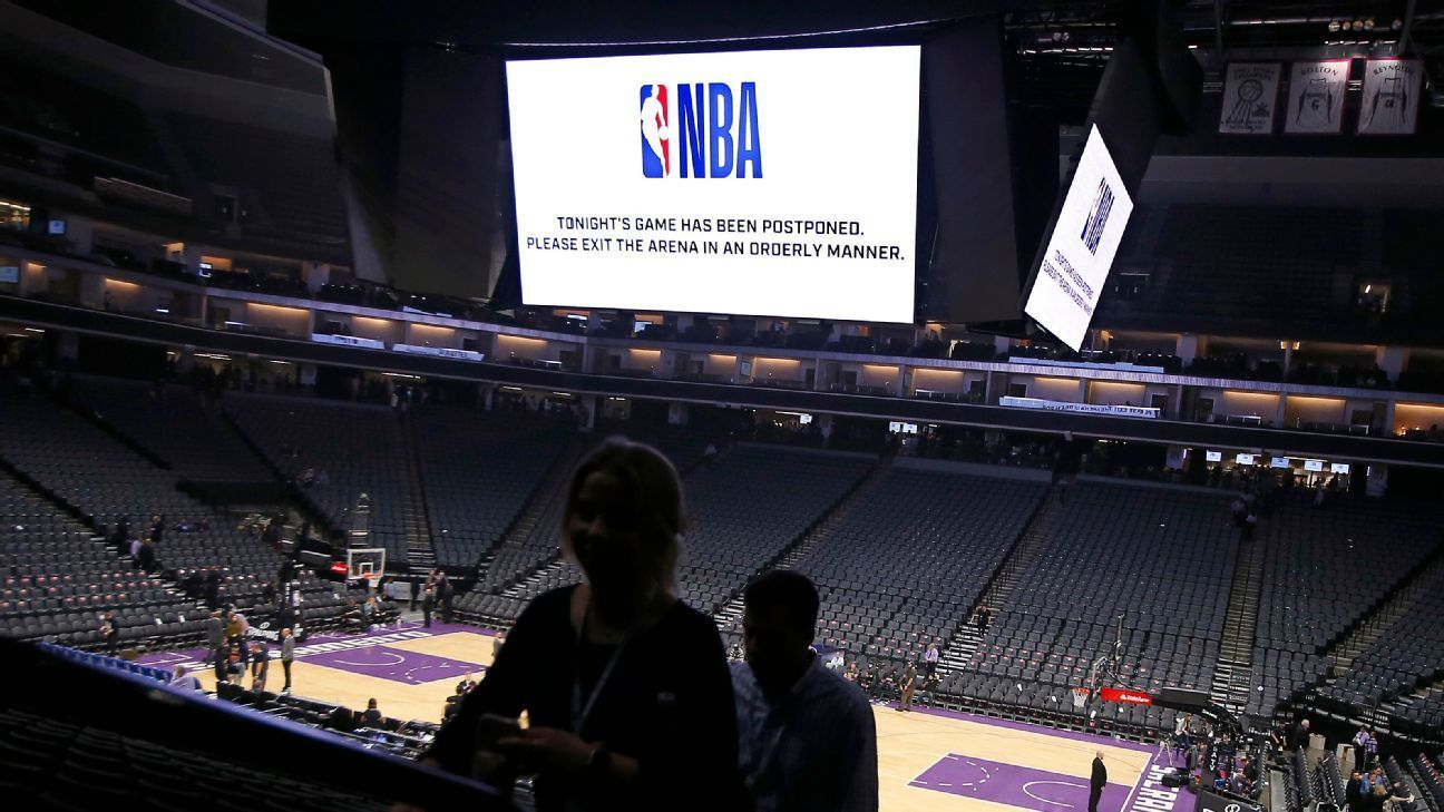 NBA eyes potential rapidtest options, sources say in 2020