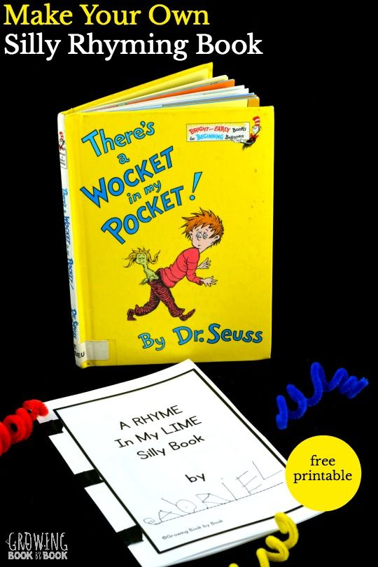 "Dr. Seuss Activity – ""There's a Wocket in my Pocket!"""
