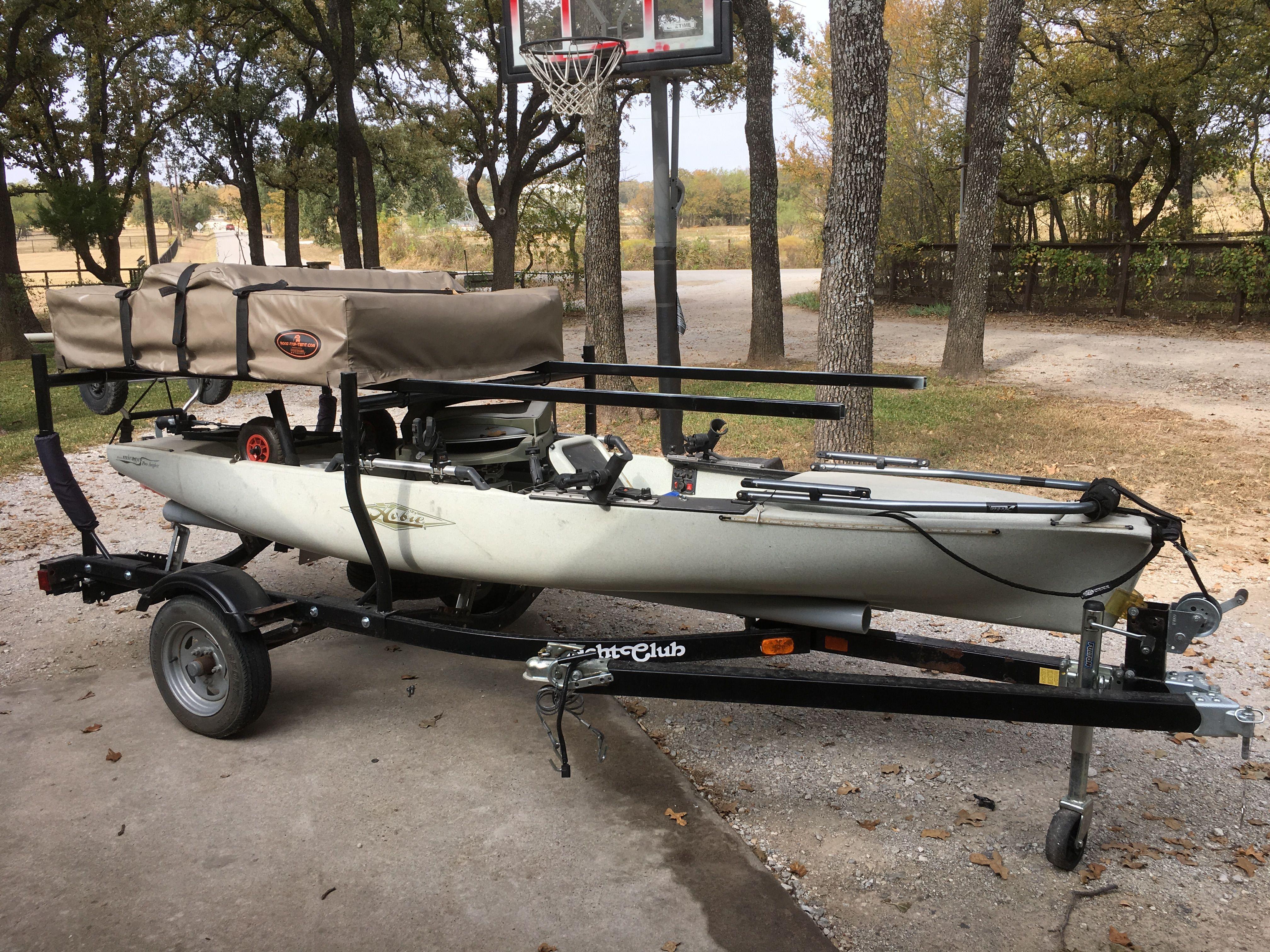 Pin By Dale Kildal On Kayak Roof Top Tent Rtt Kayak Trailer Kayaking Gear Kayak Fishing