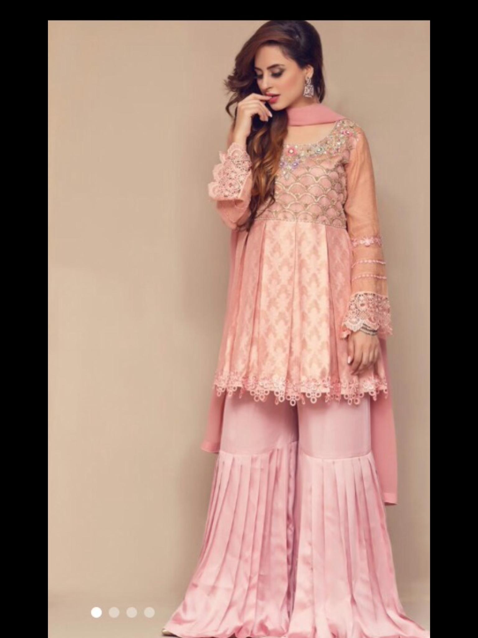Vistoso Vestidos Pakistani Desgaste Del Partido Modelo - Colección ...