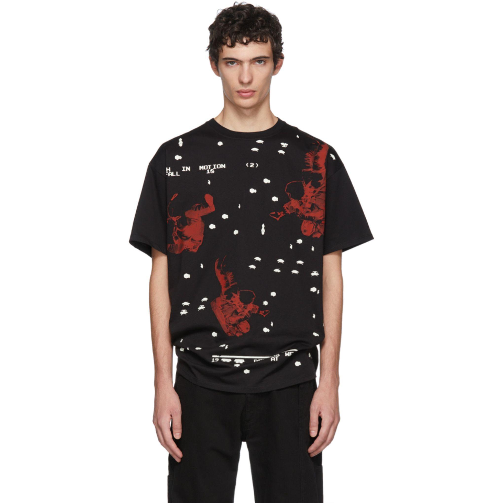626f3e9f2 Raf Simons - Black Regular Fit Astronaut T-Shirt | Fashion | Raf ...