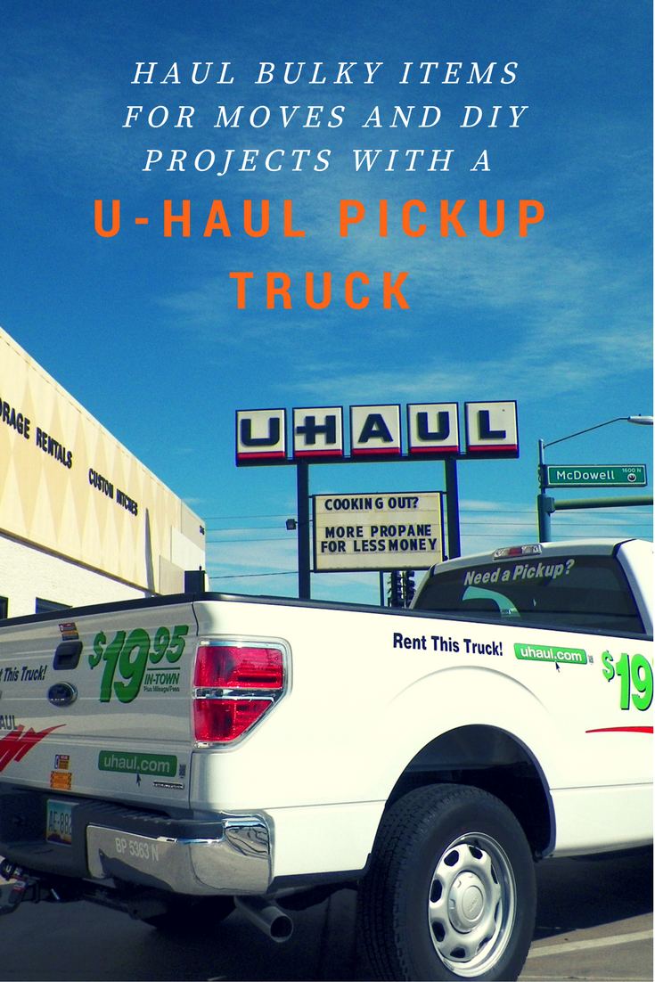If You Re Planning On A Diy Home Improvement Project Or A Small Move A U Haul Pickup Truck Could Haul Your Item Pickup Trucks Moving Supplies Home Improvement