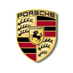 The Gold Makes The Brand Look Expensive And High Class Along With The Horse Similar To Ferrari Luxury Car Logos Car Logos Porsche Logo