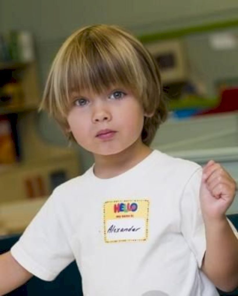 Nice 39 Charming Baby Boys Hairstyle With Long Hair Https Upoutfit Com Index Php 2019 03 06 39 Charming Ba Boy Haircuts Long Boy Hairstyles Baby Boy Haircuts