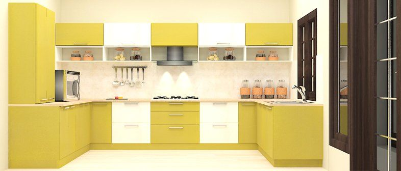 design your own l shaped plywood kitchen layouts for small indian