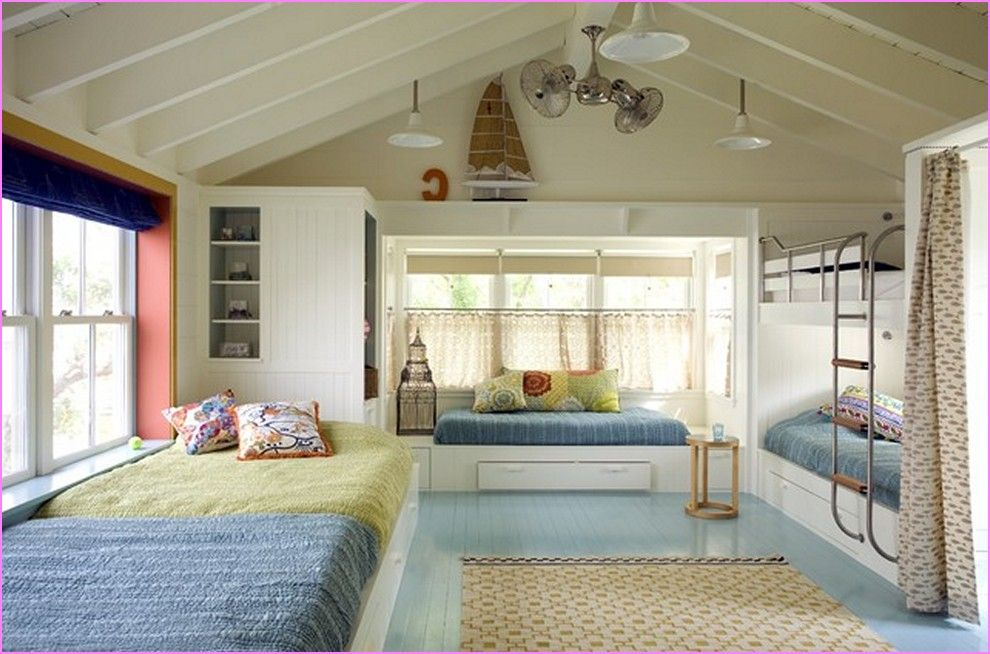 cool-bunk-beds-for-small-roomsjpg (990×654) SMALL SPACE FURNITURE