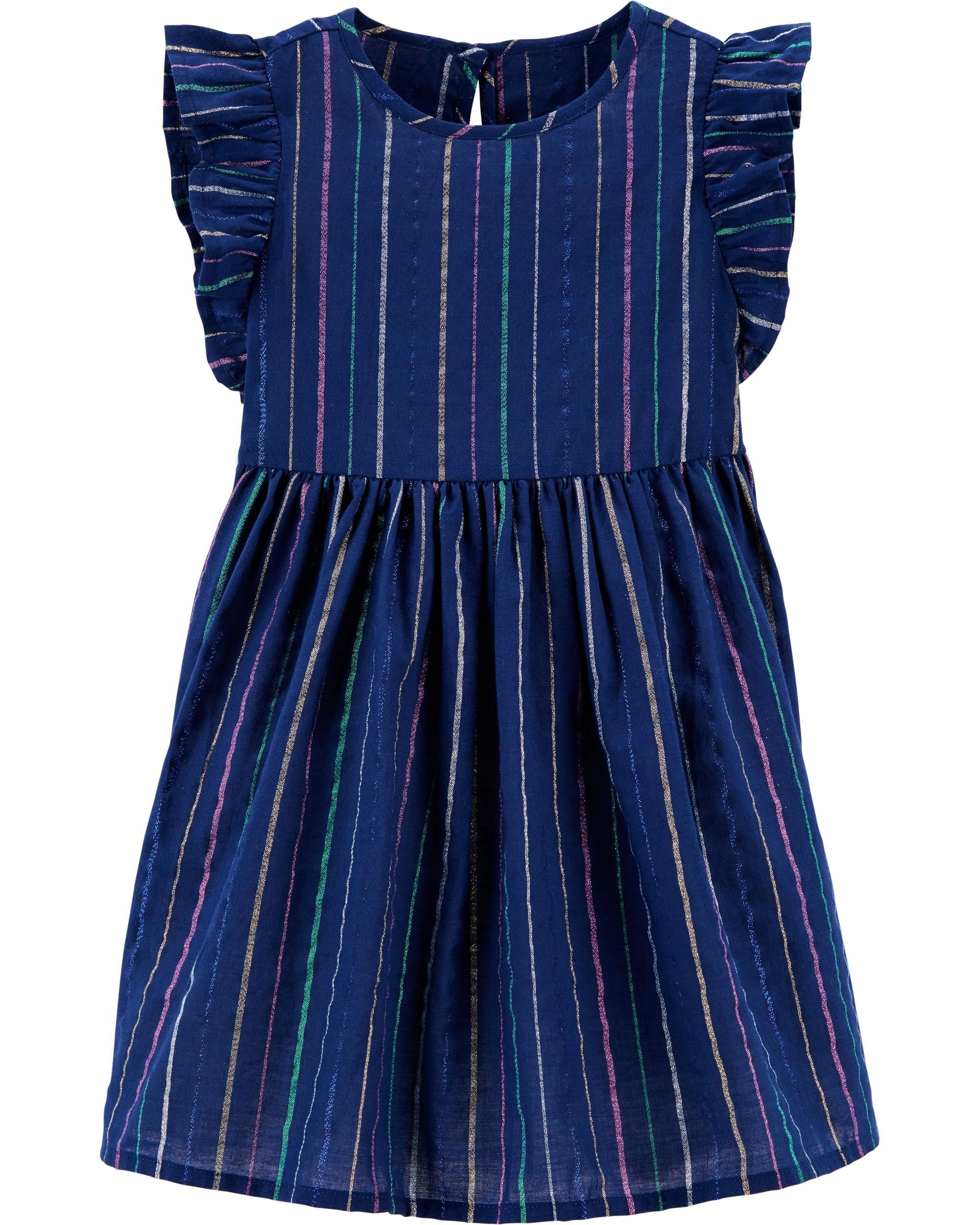b05fadb36979 Rainbow Stripe Dress