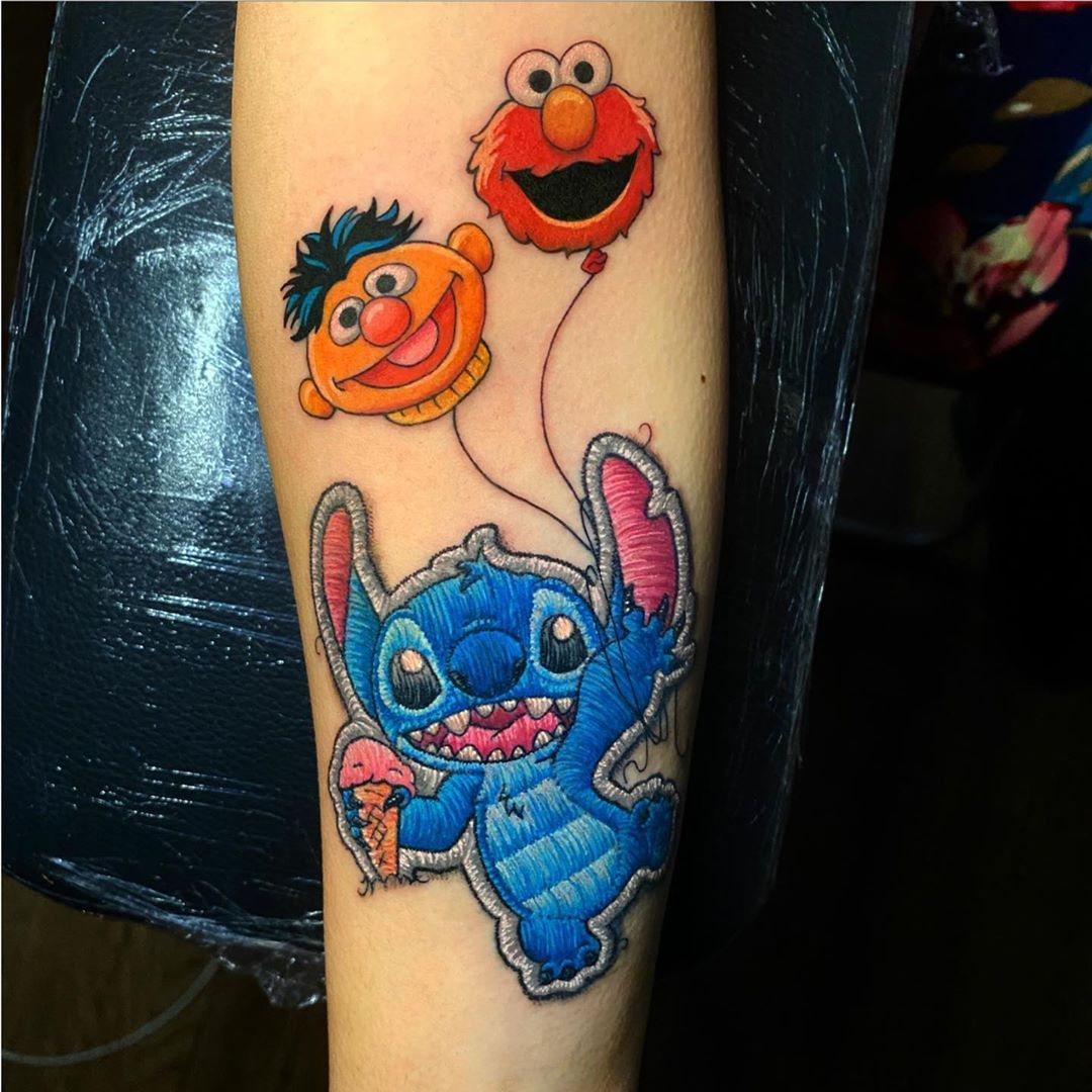 7 Must Follow Artists If You Love Embroidery Tattoo Designs In 2020 Tattoos Embroidery Tattoo Tattoo Artists