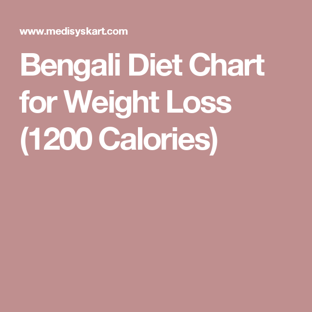 Bengali diet chart for weight loss calories also charts rh pinterest