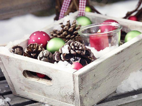 Weihnachtsdeko basteln - die schönsten DIY-Ideen Weihnachtsdeko - weihnachtswanddeko basteln