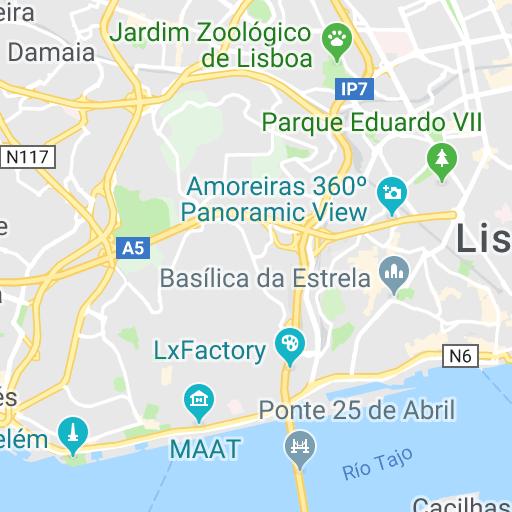 mapa interactivo lisboa Mapa de Lisboa   Plano de Lisboa interactivo | Lisboa | Pinterest mapa interactivo lisboa